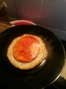 jaffa cake pancake